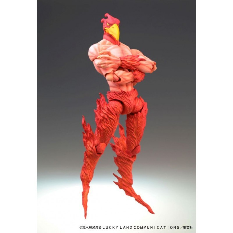 Figurine Magician Red - Super Action Chozokado - Jojo's Bizarre Adventure Part.3