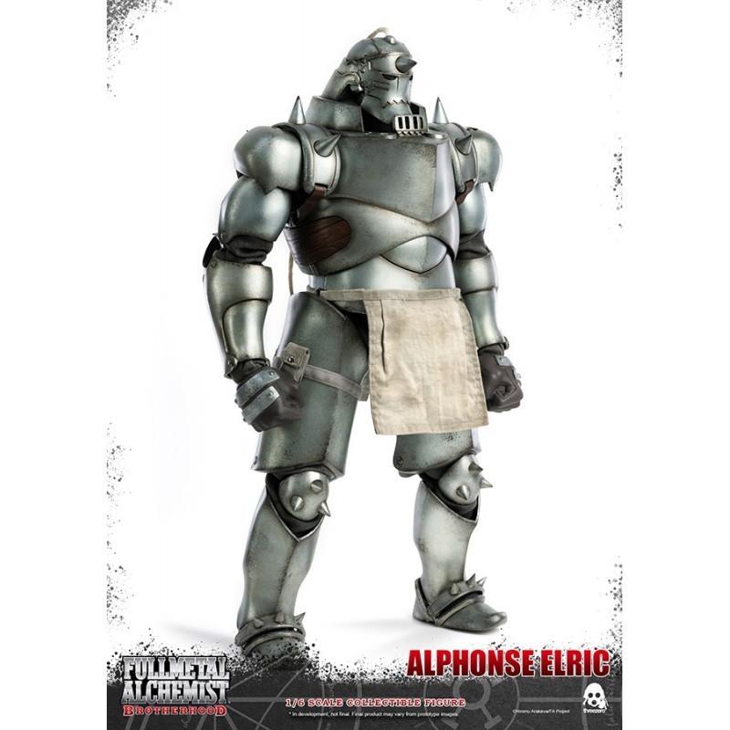 Figurine articulée 1/6 Alphonse Elric 37 cm - Threezero - Fullmetal Alchemist