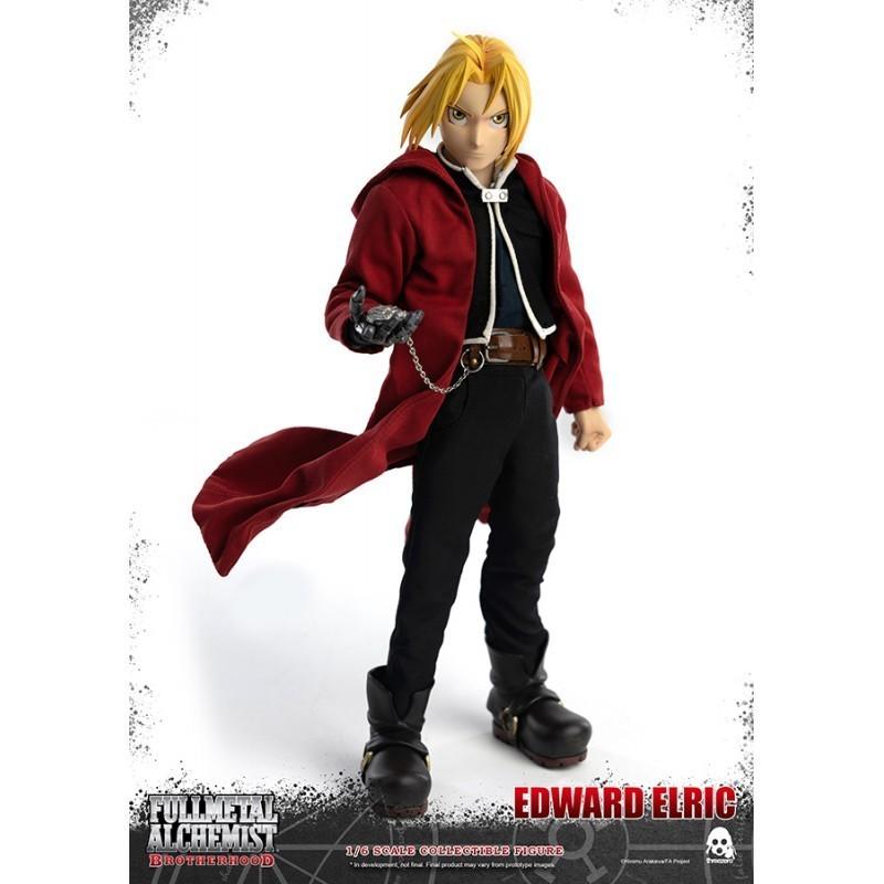 Figurine articulée 1/6 Edward Elric 25 cm - Threezero - Fullmetal Alchemist