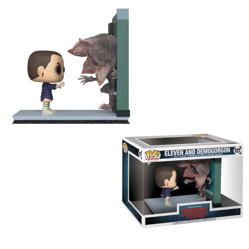 Stranger Things - Pack 2 figurines Pop! Eleven & Demogorgon