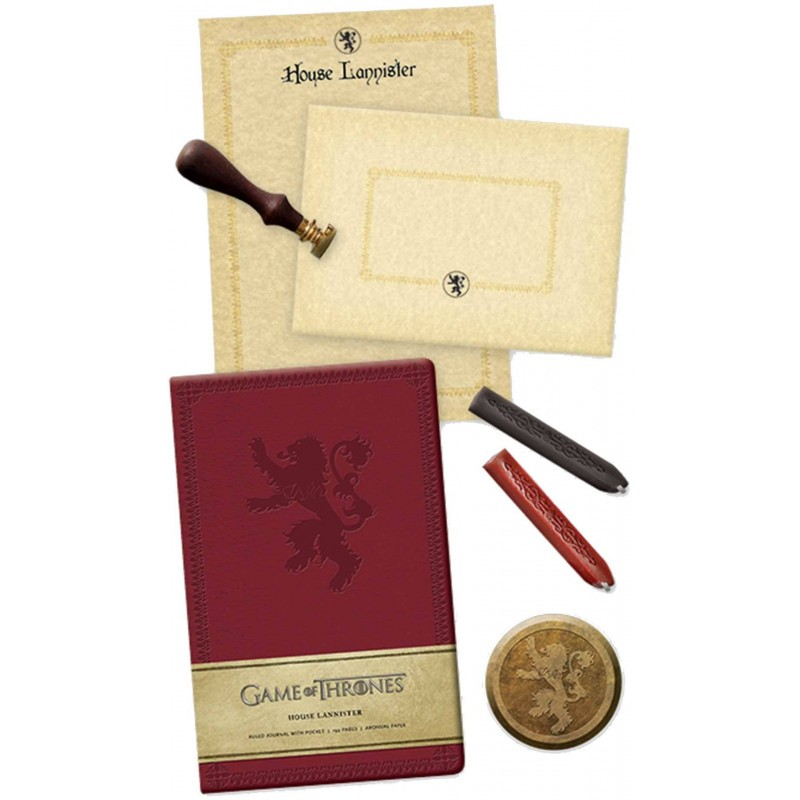 Game of Thrones - Set papeterie Deluxe Lannister