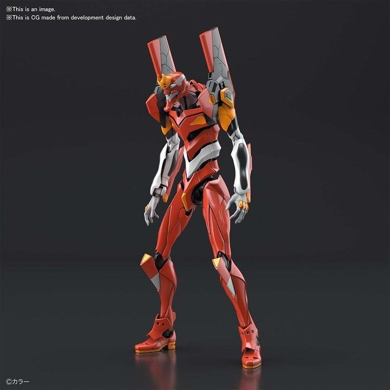 Evangelion - Maquette RG EVA Unit-02 1/144 - Plastic Model Kit