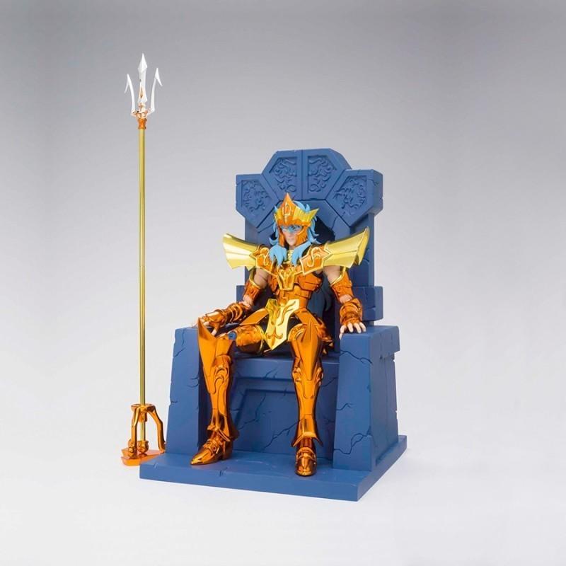 Myth Cloth Ex Poseidon Julian Solo Imperial Throne Set - Saint Seiya
