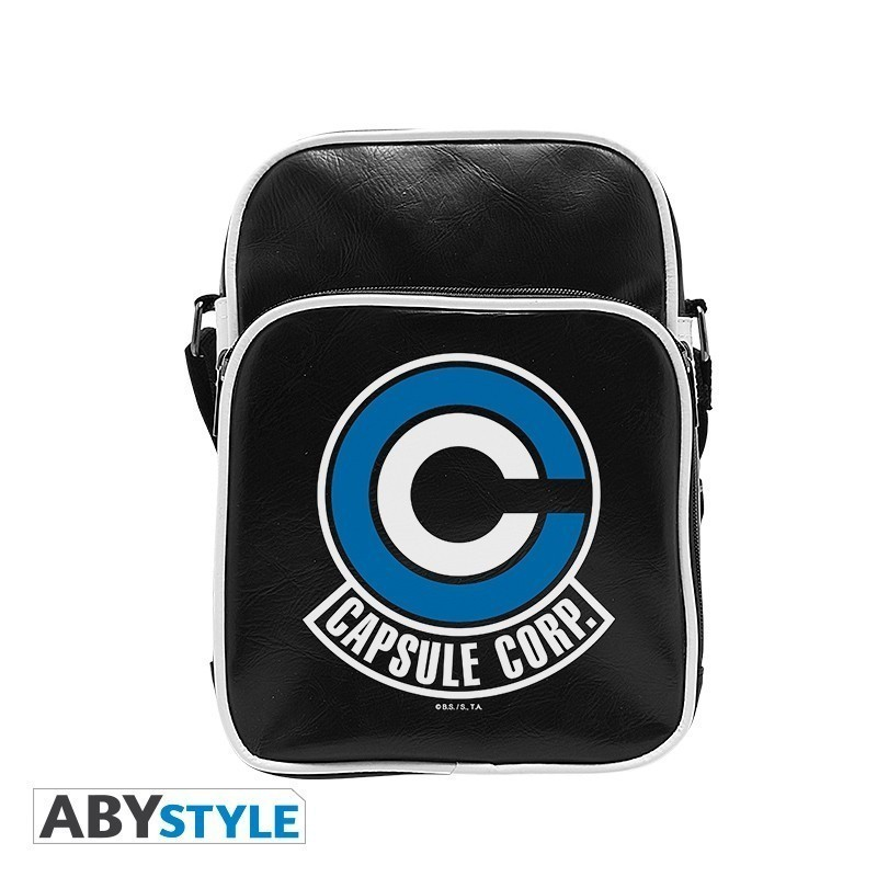 "Dragon Ball - Sac besace vynile ""Capsule Corp"""