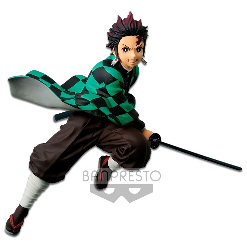 Figurine Tanjiro Kamado - Vibration Stars - Kimetsu no Yaiba Demon Slayer