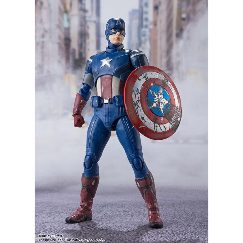 S.H Figuarts Captain America Assemble - Avengers