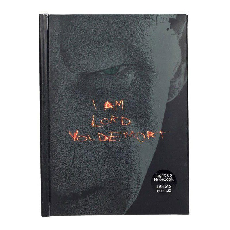 Harry Potter - Cahier lumineux Voldemort