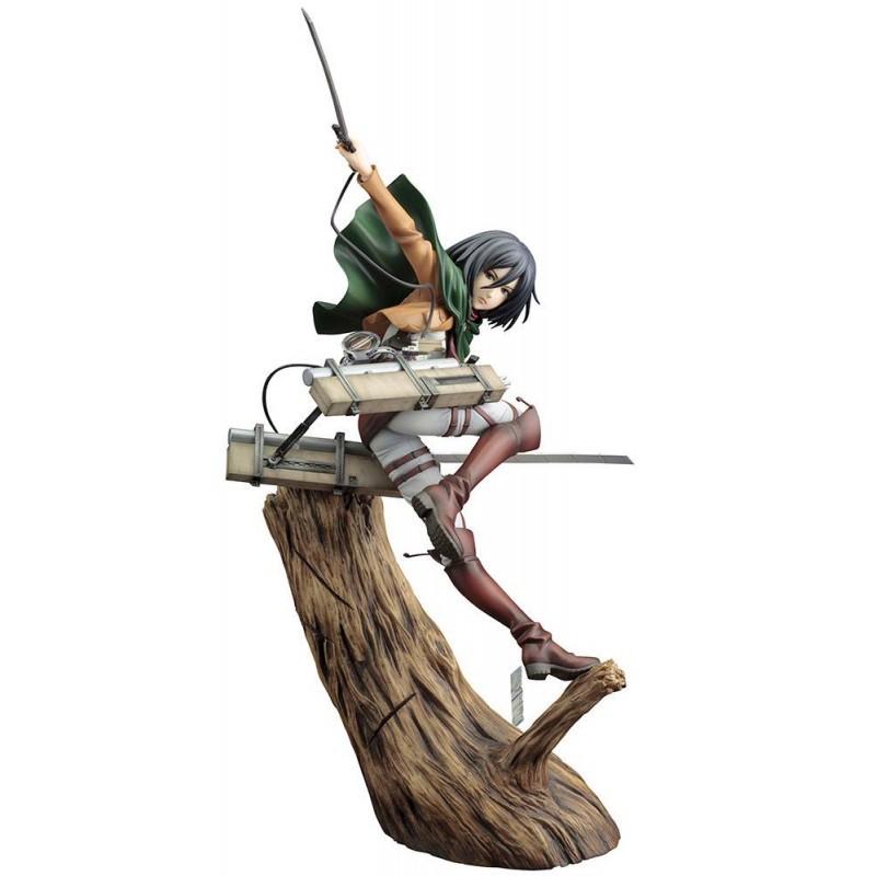 Statuette ARTFX J Mikasa Ackerman Renewal Package ver. Kotobukiya - L'Attaque des Titans