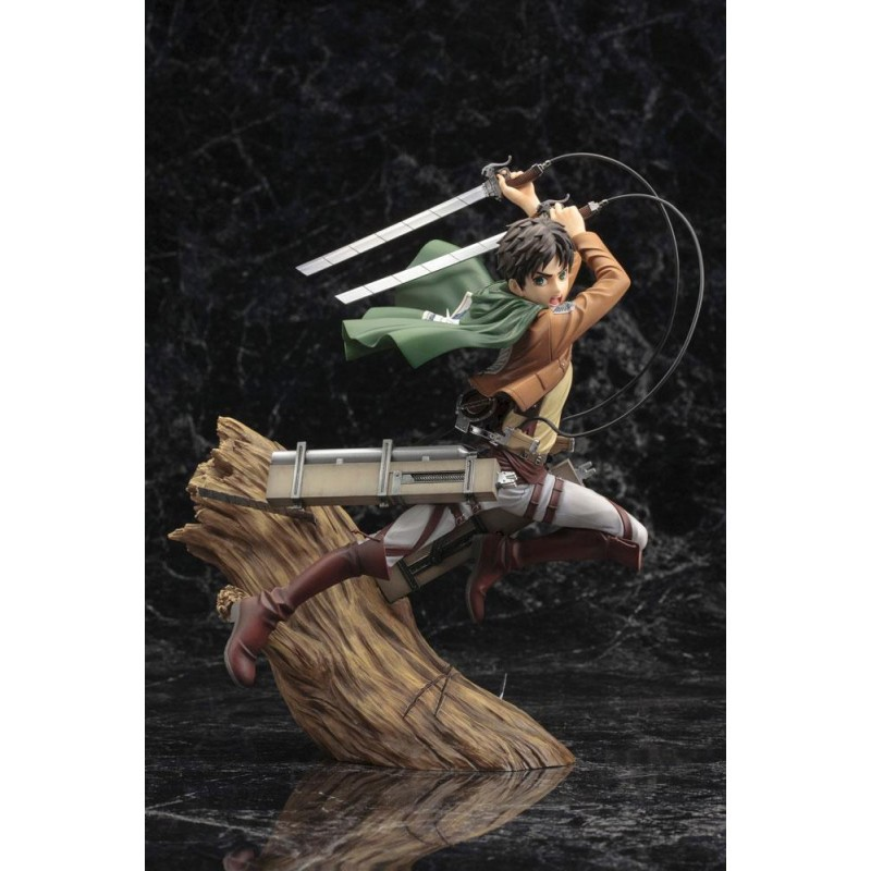 Statuette ARTFX J Eren Jäger Renewal Package ver. Kotobukiya - L'Attaque des Titans