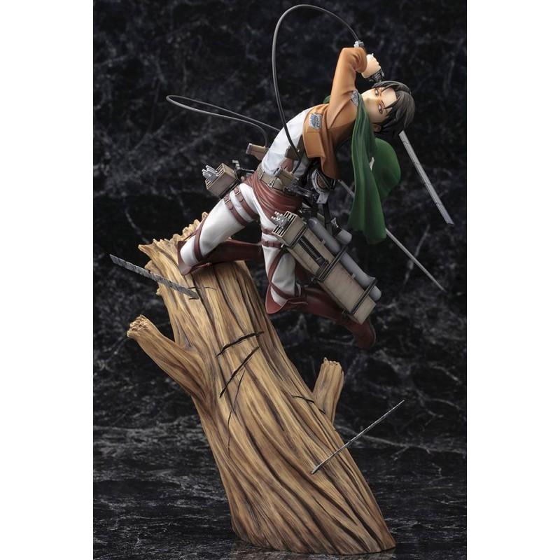 Statuette ARTFX J Levi Renewal Package ver. Kotobukiya - L'Attaque des Titans