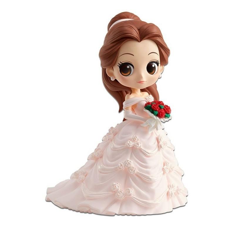 Disney - Figurine Q Posket Belle  - Dreamy Style