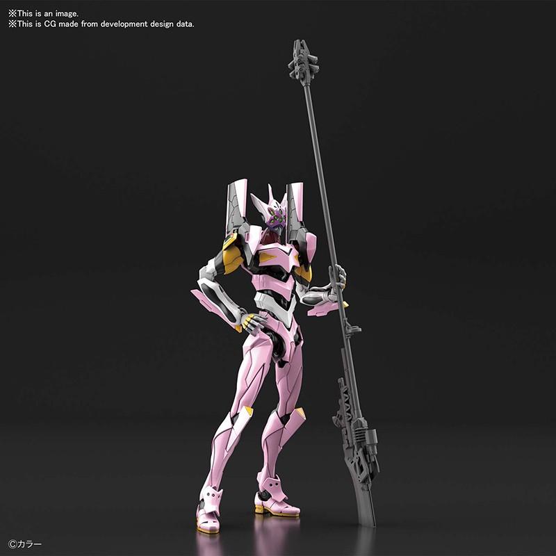 Evangelion - Maquette RG EVA Unit-08 1/144 - Plastic Model Kit