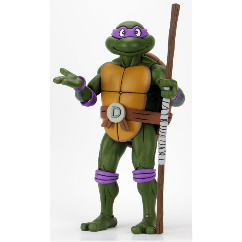 Tortues Ninja - Figurine articulée 1/4 Donatello 42 cm - Cartoon Vers.