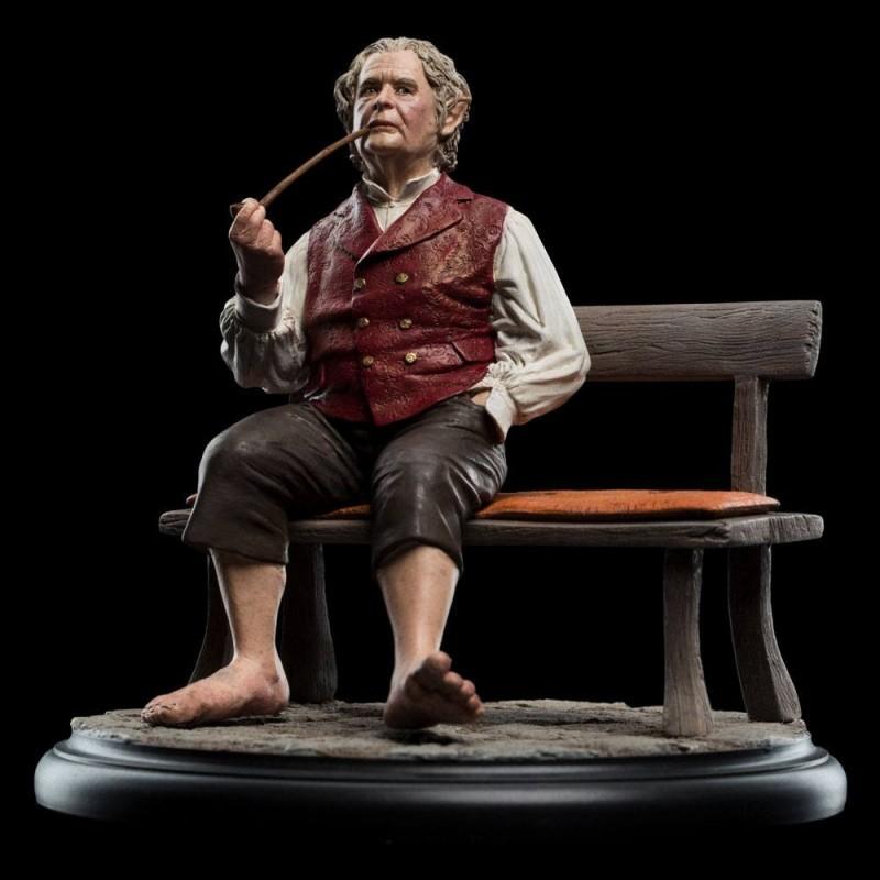 Le Seigneur des Anneaux - Statuette Bilbon Sacquet 15 cm