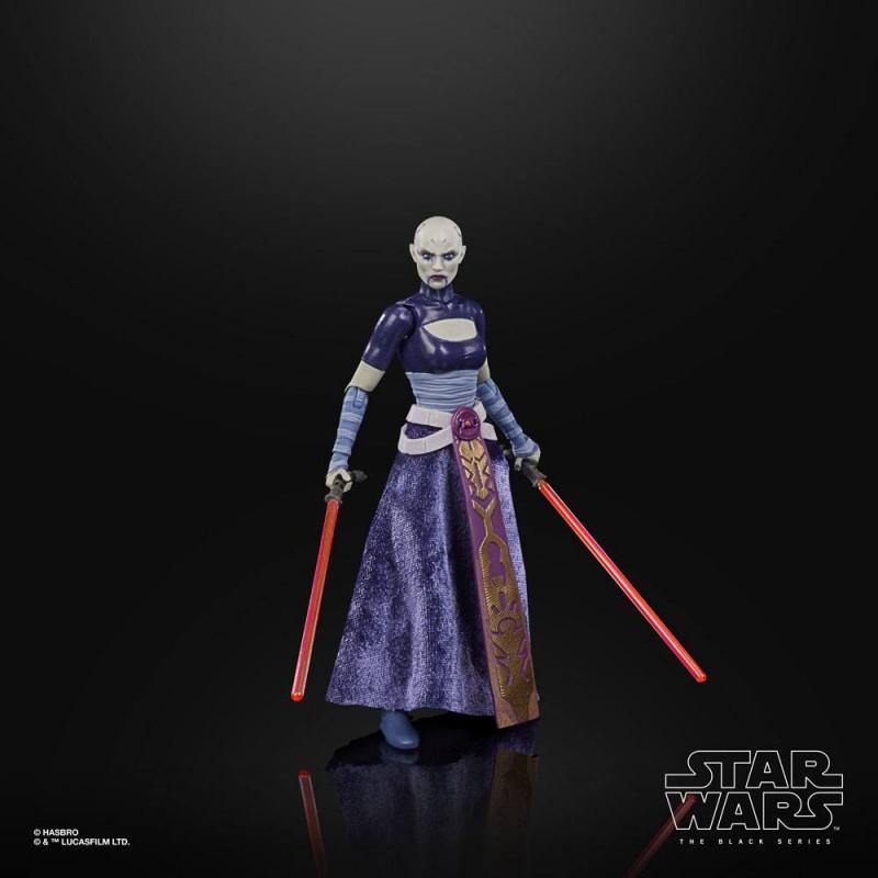 Figurine Asajj Ventress - Black Series - Star Wars : The Clone Wars