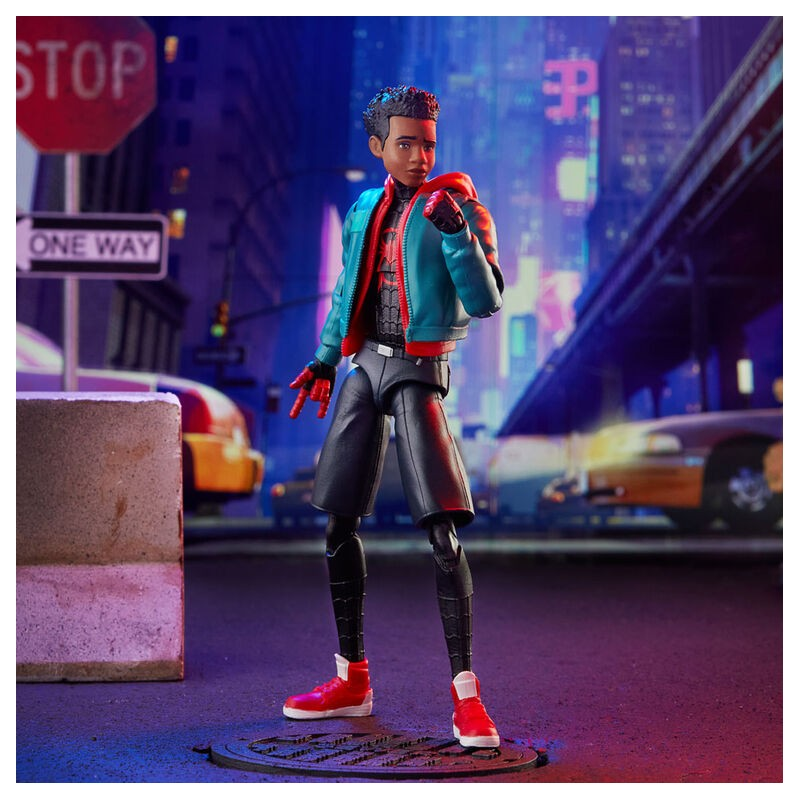 Figurine Miles Morales - Spider-Man Into the Multiverse - Marvel Legends Series