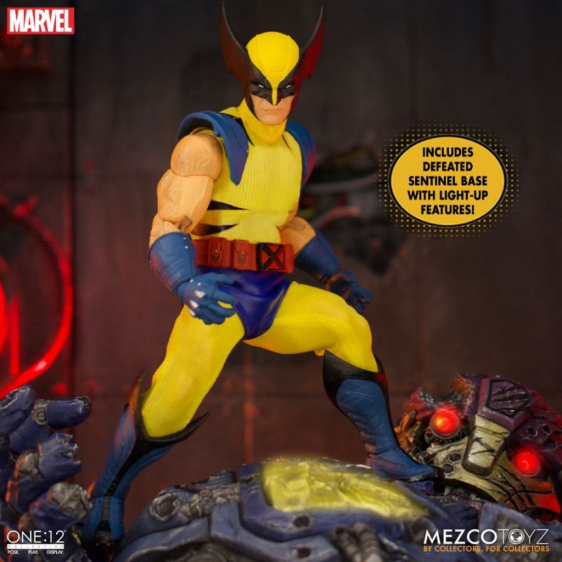 Figurine One:12 Collective Constantine Wolverine Deluxe Steel Box Edition