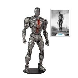 Figurine Cyborg (Helmet) - DC Justice League Movie