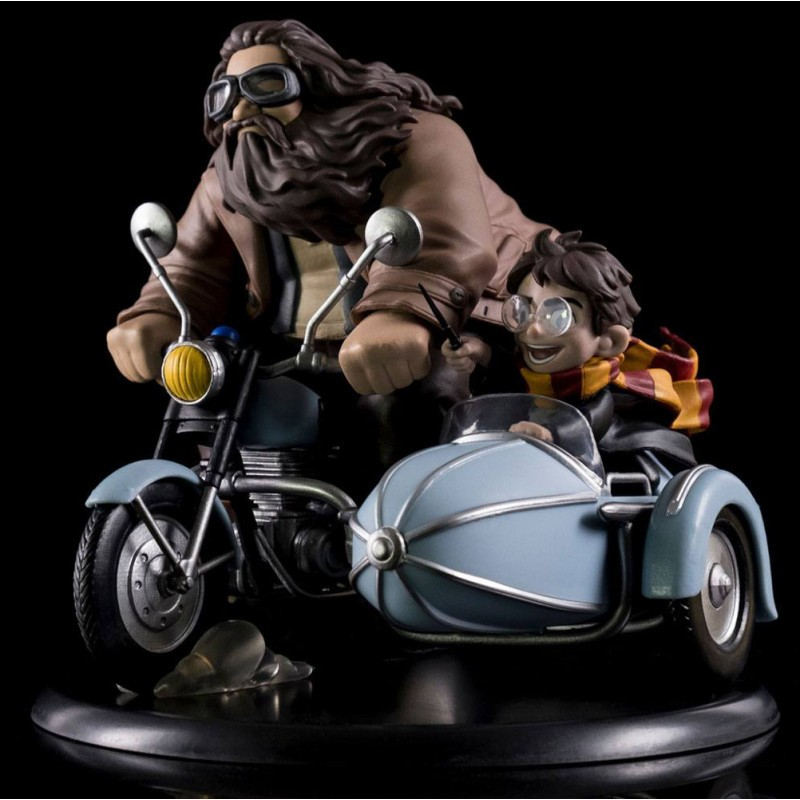 Harry Potter - Statuette Harry Potter & Hagrid - Q-Fig Max