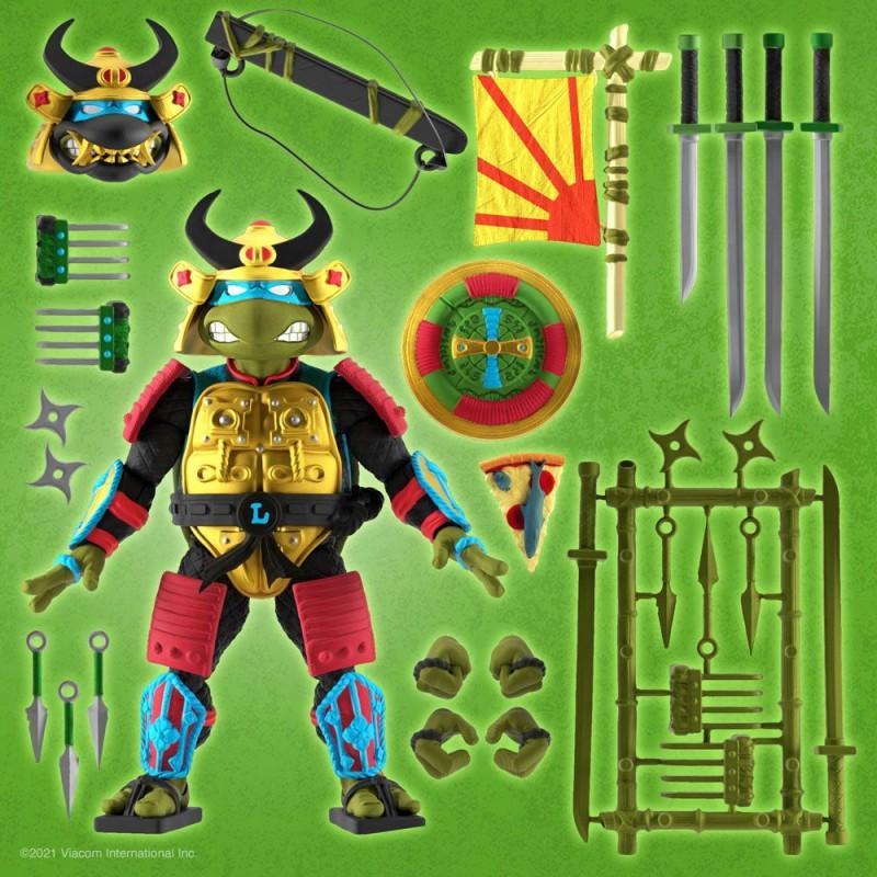 Figurine Ultimates Leonardo The Sewer Samurai - Tortues Ninja