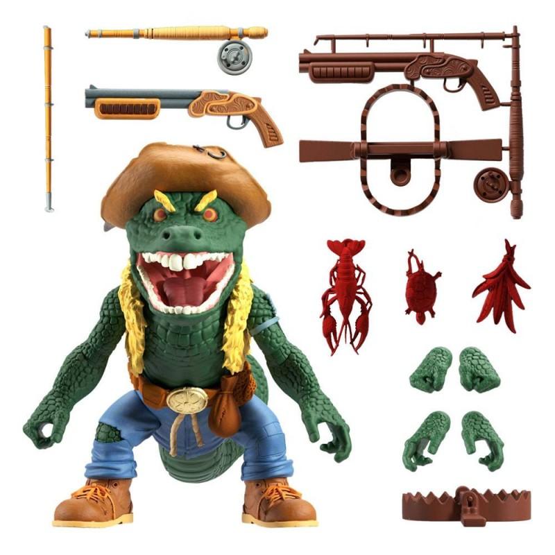 Figurine Ultimates Leatherhead - Tortues Ninja