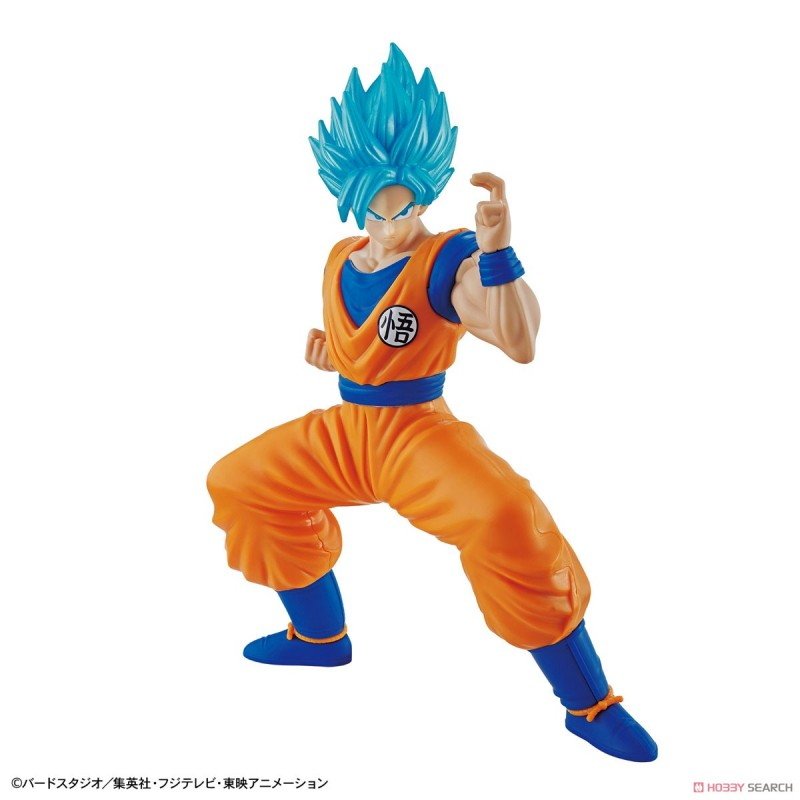 Maquette Super Saiyan God SS Son Goku - Entry Grade Model Kit - Dragon Ball Super