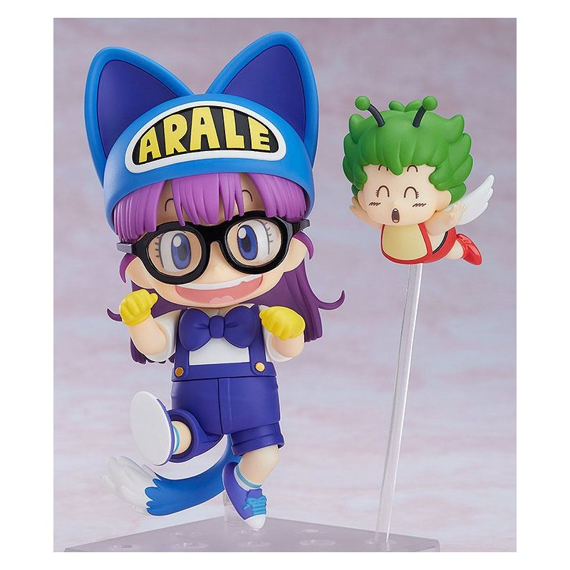 Dr Slump - Figurine Arale Cat Ears & Gatchan - Nendoroid