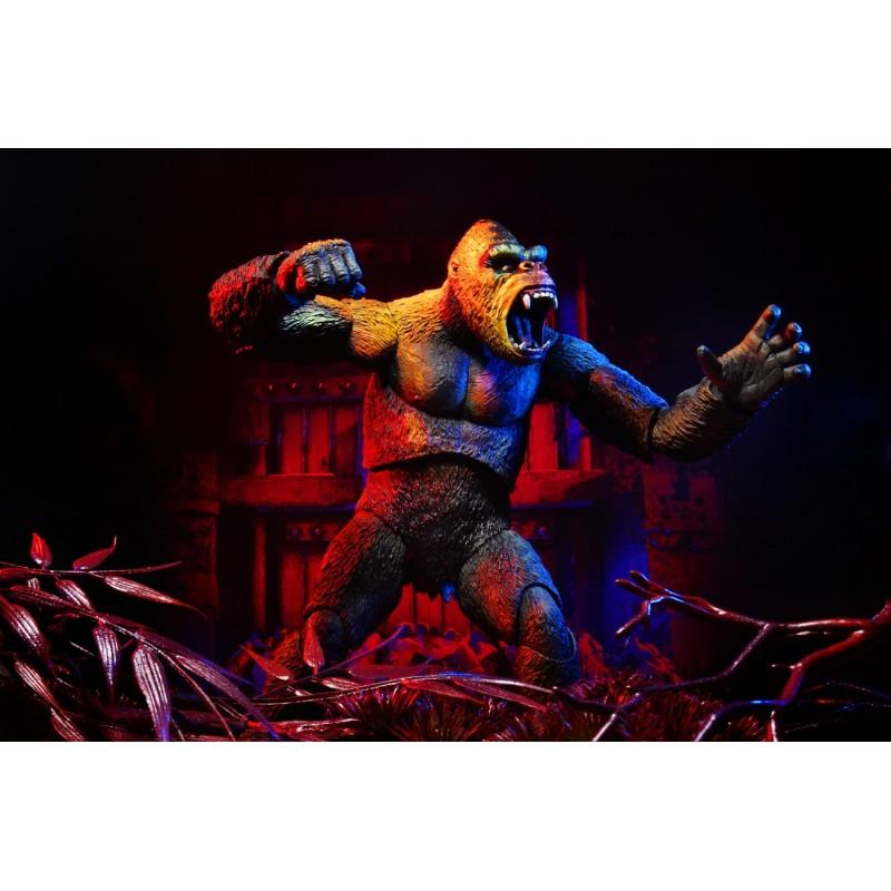 Figurine Ultimate King Kong (Illustrated) 20 cm - Neca