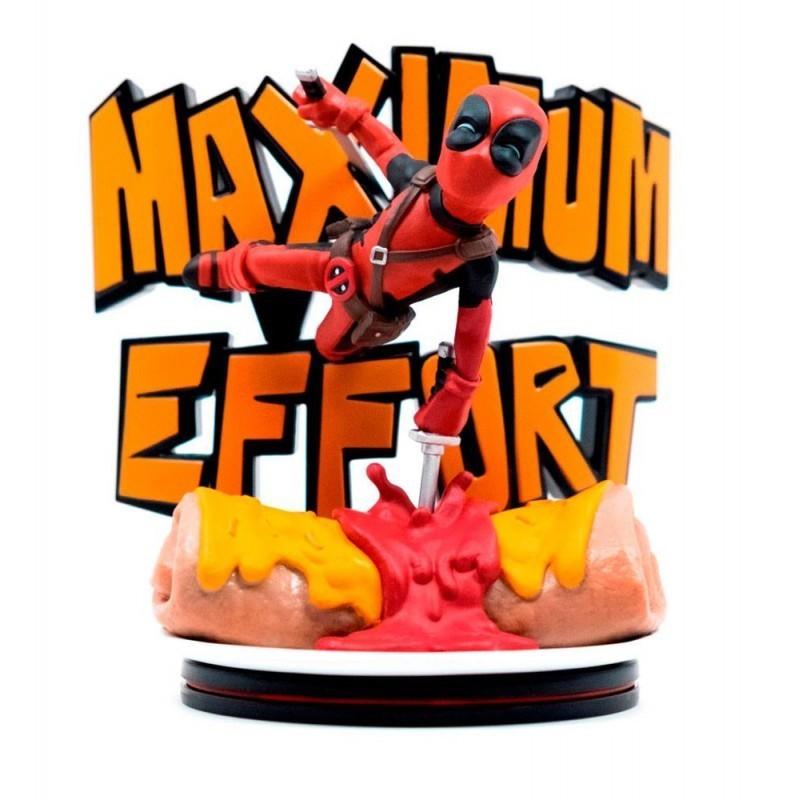 Marvel - Figurine Deadpool Q-Fig Max - Maximum Effort