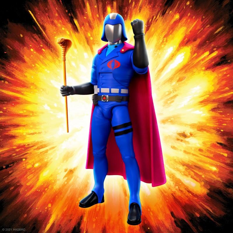 Figurine Cobra Commander - G.I. Joe ULTIMATES!