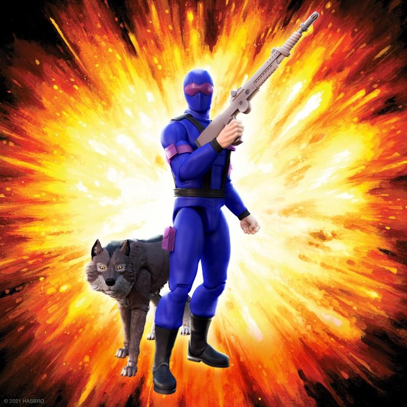 Figurine Snake Eyes (Real American Hero) - G.I. Joe ULTIMATES