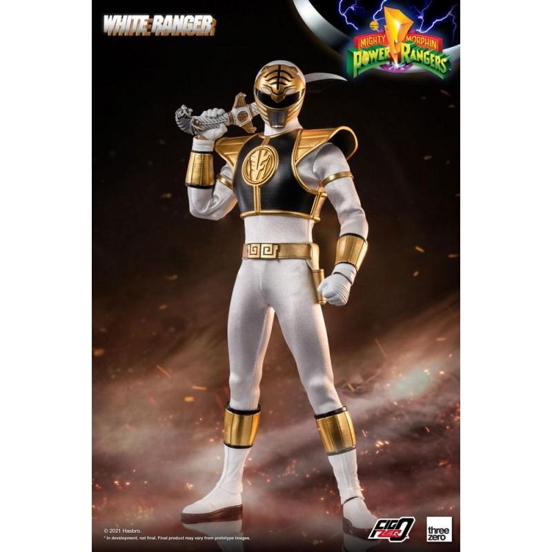 Figurine 1/6 White Ranger 30 cm - Mighty Morphin Power Rangers