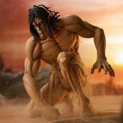 Figurine Eren Yeager: Attack Titan Ver. - L'Attaque des Titans - Pop Up Parade