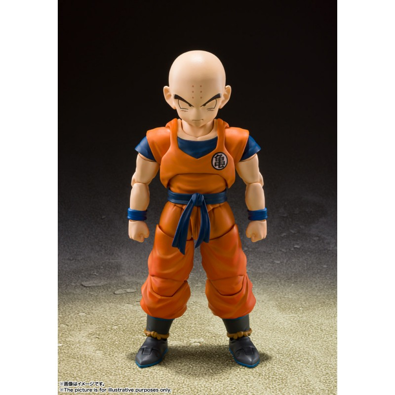 S.H.Figuarts Krillin Earth's Strongest Man - Dragon Ball Z