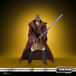 Figurine Mace Windu (L'Attaque des Clones) - Star Wars Vintage Collection