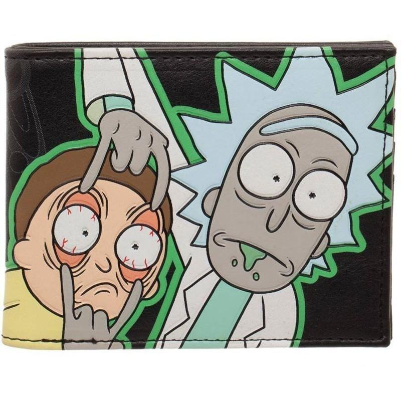 Porte-feuilles Rick et Morty - Characters GITD