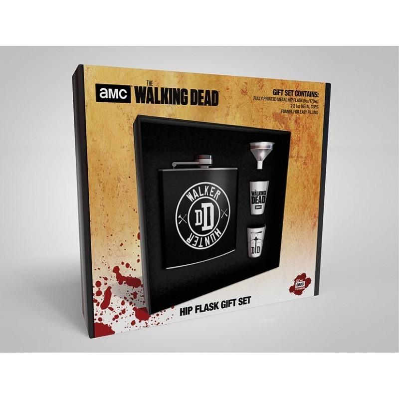 Walking Dead - Set flasque Walker Hunter