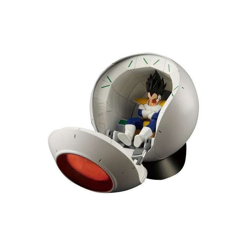 Dragon Ball Z - Capsule spatiale Vegeta - Maquette Model Kit