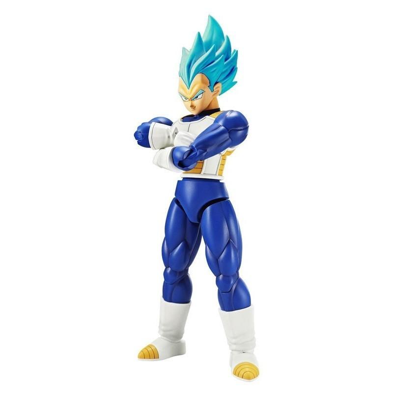Dragon Ball Super - Figure-rise Super Saiyan God Vegeta - Maquette Model Kit