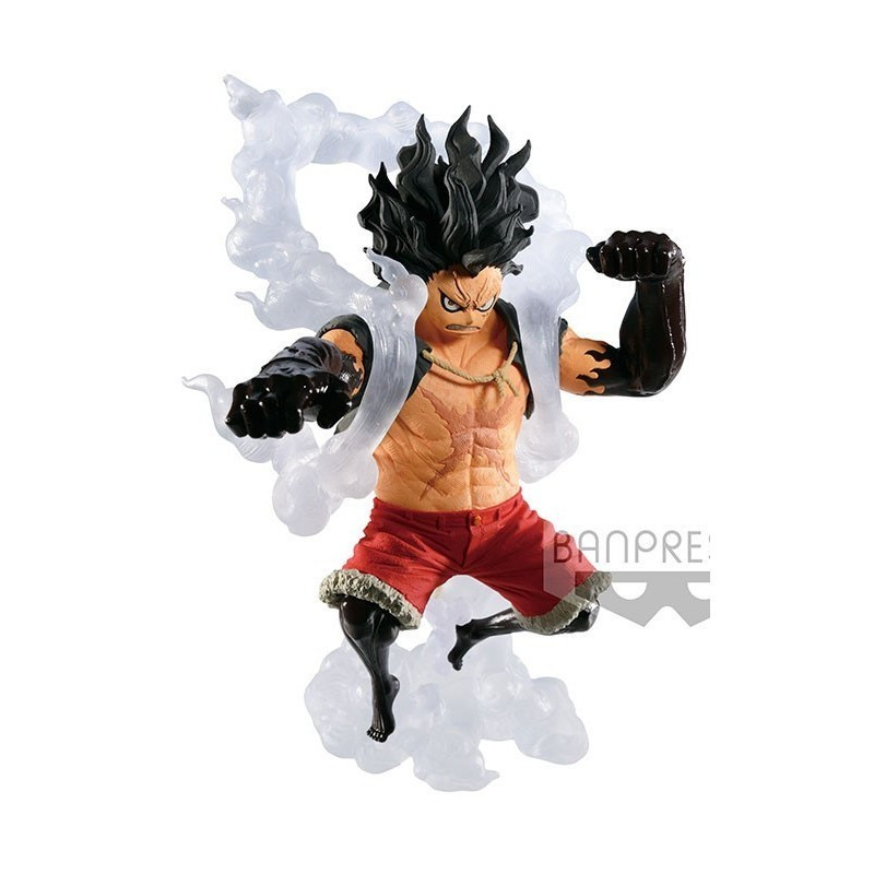 One Piece - Figurine Luffy Snakeman King of Artist