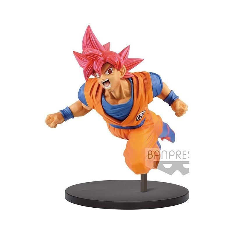 Dragon Ball Super - Figurine Son Goku Super Saiyan God - Son Goku FES!!