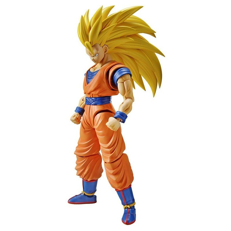 Dragon Ball Z - Figure-rise Son Goku SSJ3 - Maquette Model Kit