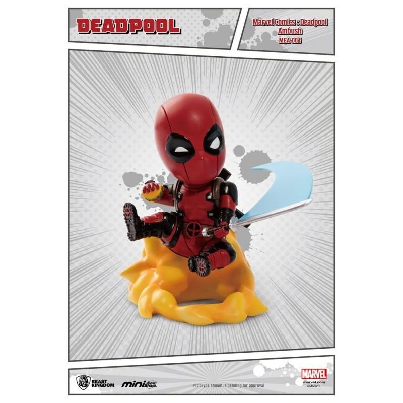 Marvel - Figurine Deadpool Ambush Mini Egg Attack