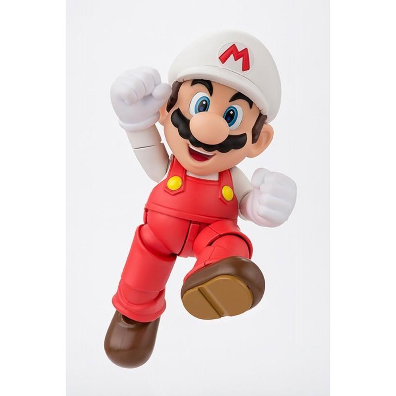 Nintendo - Figurine Fire Mario S.H Figuarts