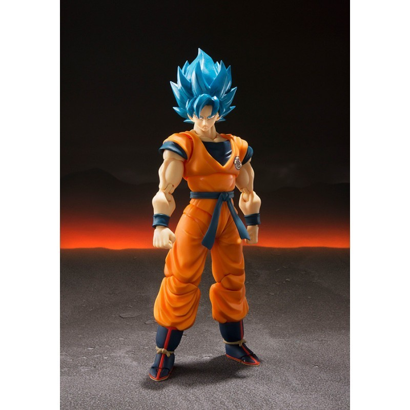 Dragon Ball Super - S.H Figuarts Son Goku Super Saiyan God