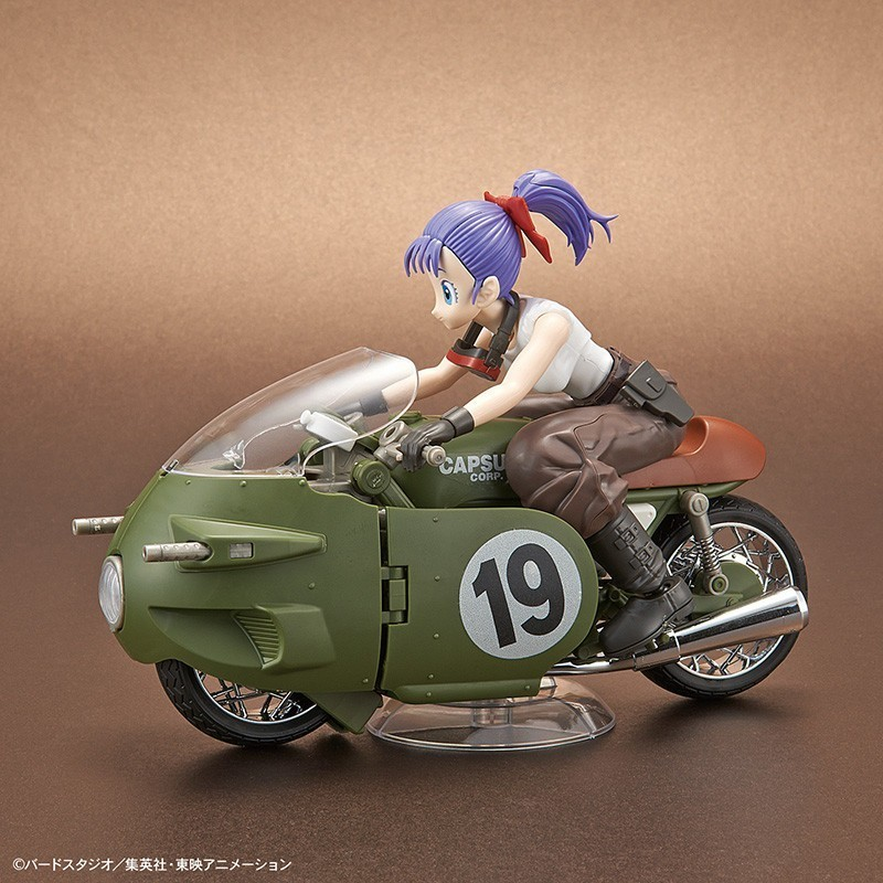 Dragon Ball Z - Maquette Bulma Transformable n°19 Bike - Figure-rise Mechanics