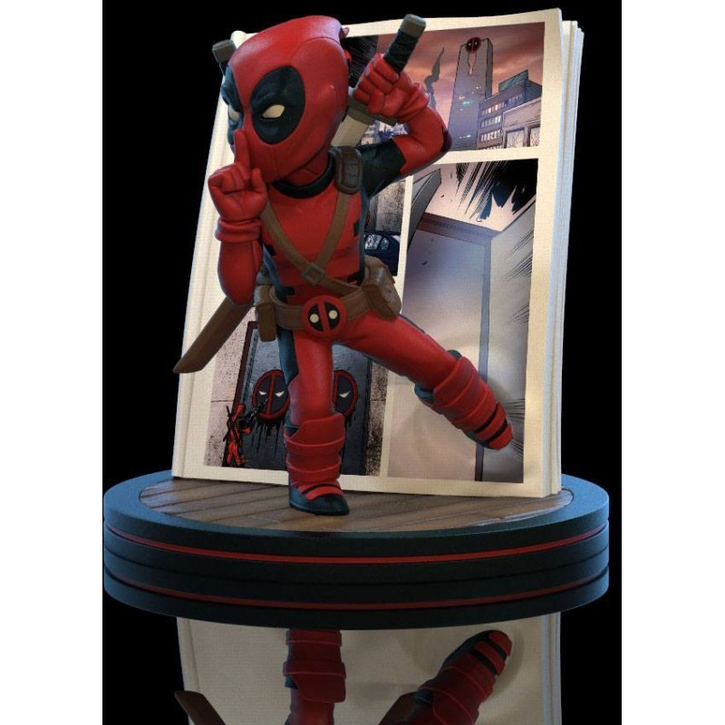 Marvel - Q-Fig Deadpool Diorama