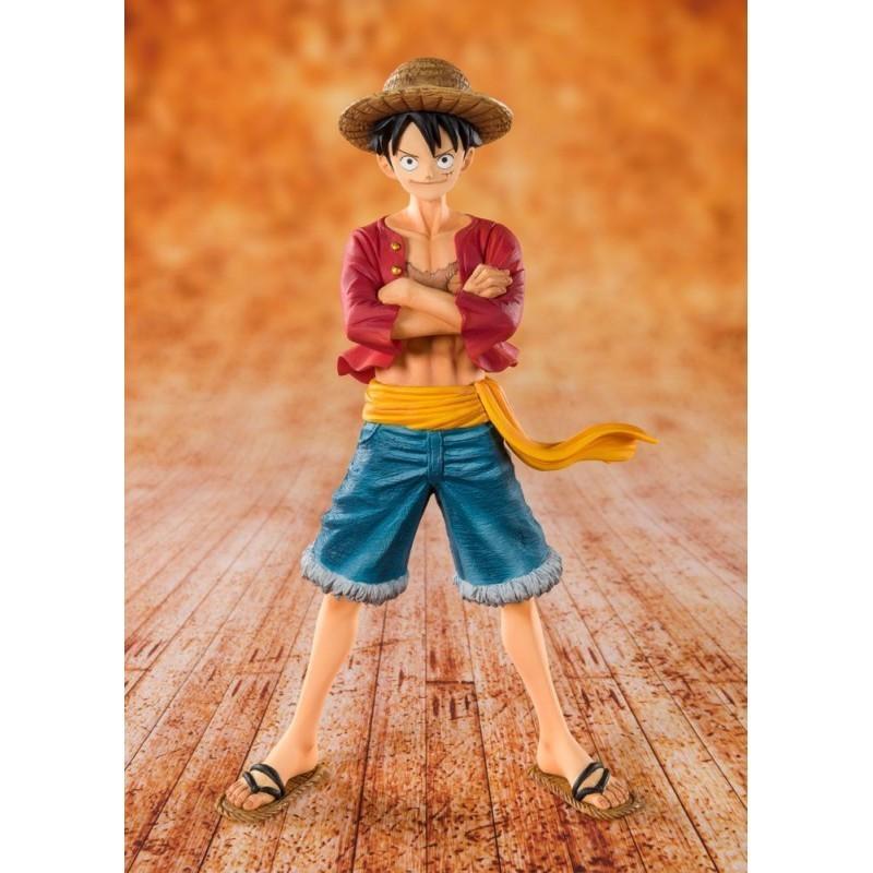 One Piece - Straw Hat Luffy - Figuarts Zero (Diorama 20ème Anniversaire)