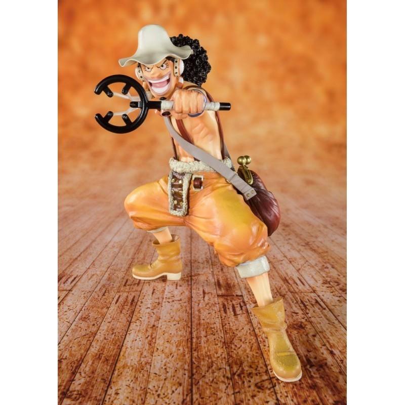 One Piece - King of Snipers Usopp - Figuarts Zero (Diorama 20ème Anniversaire)