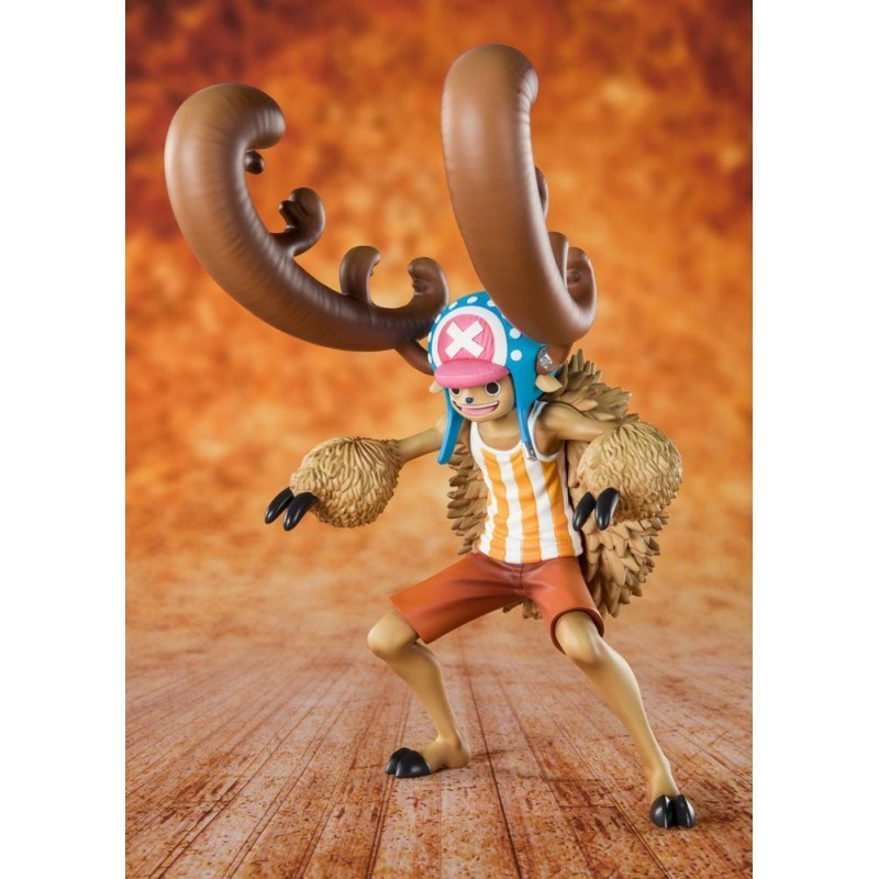 One Piece - Cotton Candy Lover Chopper Horn Point Vers - Figuarts Zero (Diorama 20ème Anniversaire)